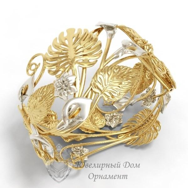 Женский браслет из золота