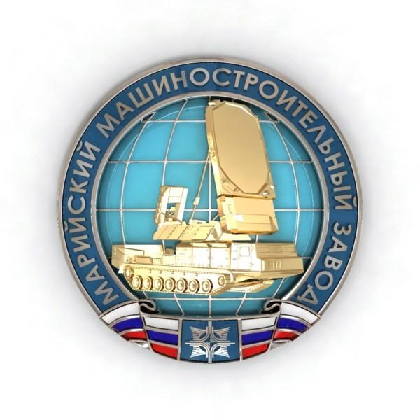 Значки для Марийского машиностроительного завода