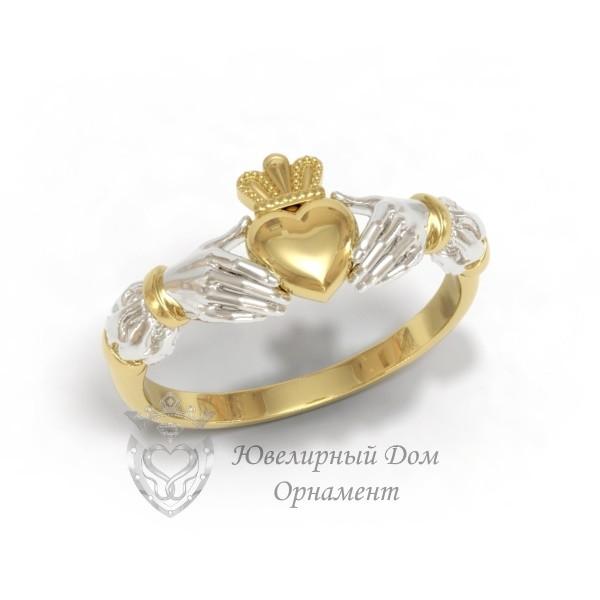 Золотое кладдахское кольцо